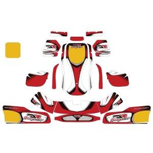 DR Kart Sticker Kit NA2/NA3