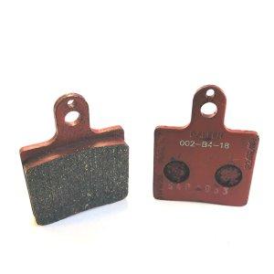 set of brake pads DR NA/ VEN 05/V09,10 front red