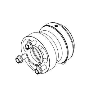 Radstern Magnesium 50x78mm
