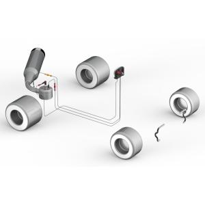 Alfano 6 2T Kit 4 inkl. Wasser- und Abgastemperatursensor