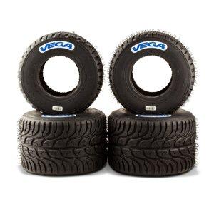 set of wet tires Vega W6 dimension: 4.20/6.00-5