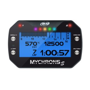 MyChron5 S 1T with exhaust gas temperature M5