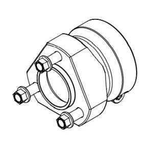 Radstern Aluminium 40x75
