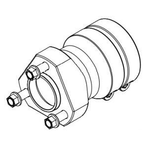 Radstern Aluminium 40x125