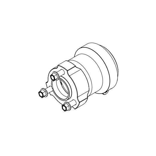 Rear Wheel Hub 25x68
