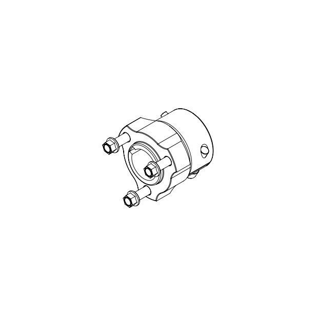 Rear Wheel Hub 30x58