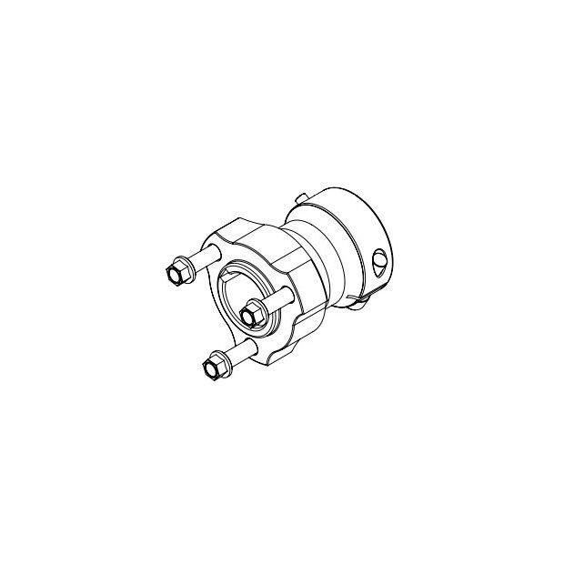 Rear Wheel Hub 30x75