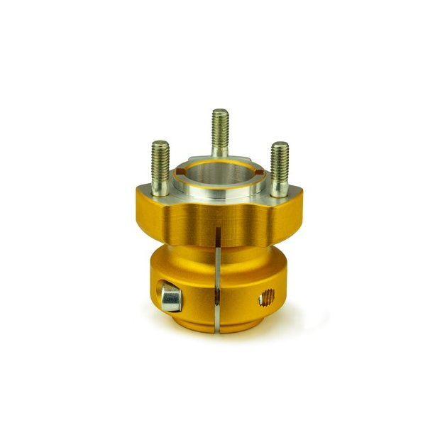 Rear Wheel Hub 30x62 Gold
