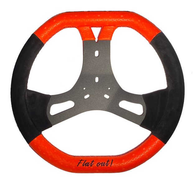 steering wheel CRG Flat Out R2.0 Ø 340mm