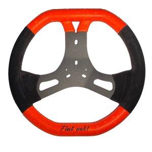 steering wheel CRG Flat Out R2.0 Ø 360mm