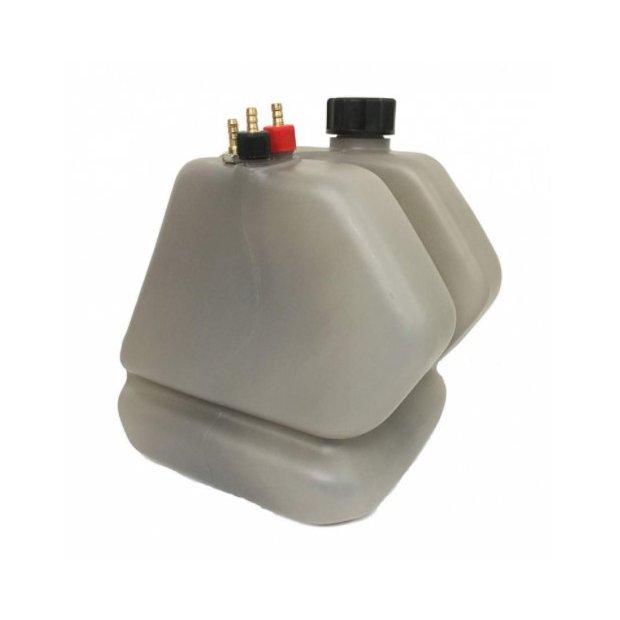 Fuel Tank KZ 8.5L Smoked