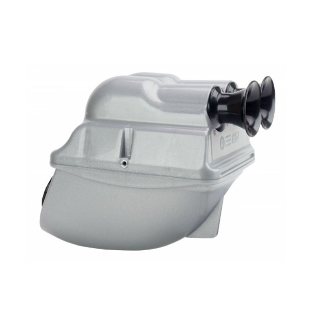 Airbox 23mm KG Power Silver