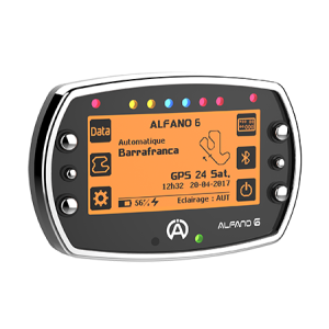 Alfano 6 2T Kit 3 with water, exhaust tempreture and speed sensor